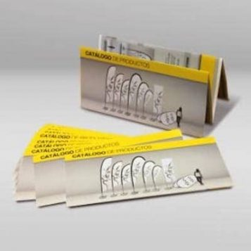 Pack de 10 catálogos gratis en blanco de Ádivin Banderas