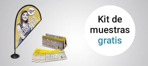 Kit de catálogos y Mini Fly banner Gota gratis