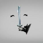 Base regulable para coche de los Mini Fly Banner