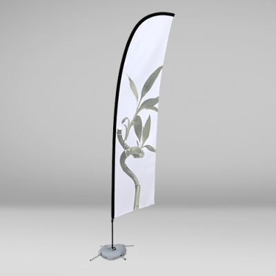 Fly Banner surf con base a forma di croce